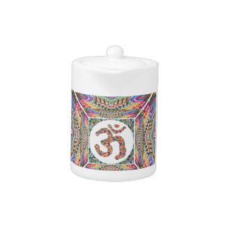 Tetera Colección de la joya del mantra de OM
