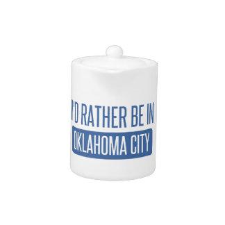 Tetera Estaría bastante en el Oklahoma City