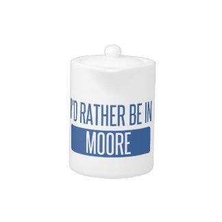 Tetera Estaría bastante en Moore