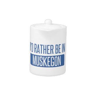 Tetera Estaría bastante en Muskegon