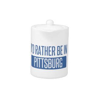 Tetera Estaría bastante en Pittsburg
