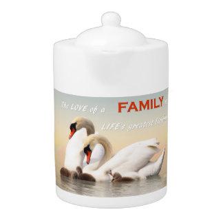 Tetera Familia del cisne