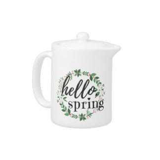 Tetera - hola, primavera