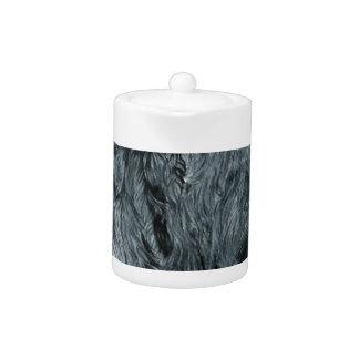 Tetera Labradoodle negro
