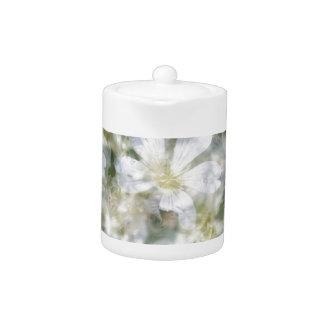 Tetera Nube de las flores blancas