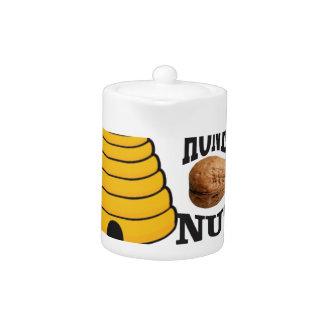 Tetera nuez de la miel