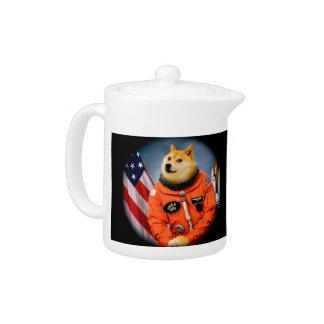 Tetera perro del astronauta - dux - shibe - memes del dux