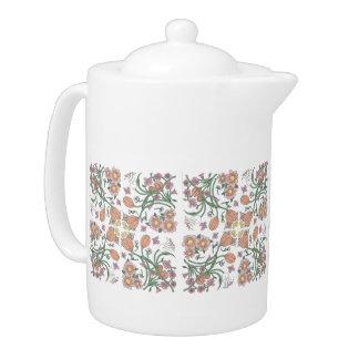 Tetera Pote del té de la colección de la primavera