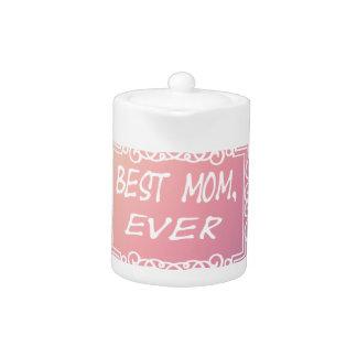 Tetera Regalo en colores pastel del día de madre del