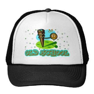 tetherball de la escuela vieja gorras de camionero
