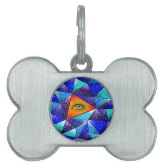 Tethrous V1 - triángulo de observación Placa Mascota