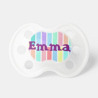 tetina bebé Emma nombre Chupetes De Bebe