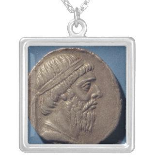 Tetracrachm de Mithradates I Colgante Cuadrado