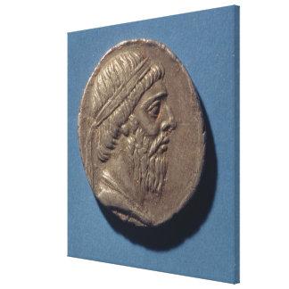 Tetracrachm de Mithradates I Lona Estirada Galerías