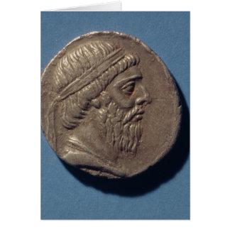 Tetracrachm de Mithradates I Tarjeta De Felicitación