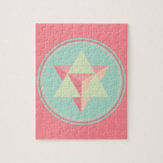 Tetraedro de la estrella de Merkaba Puzzle