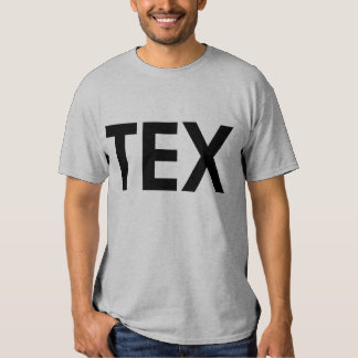 TEX Tejas Camisetas