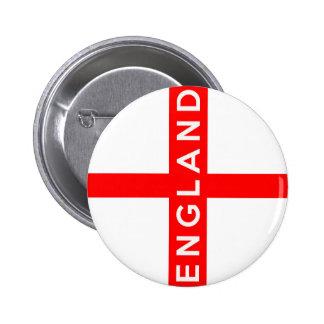 texto británico del nombre del símbolo de la bande chapa redonda 5 cm