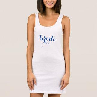 Texto de encargo del color de la novia del vestido