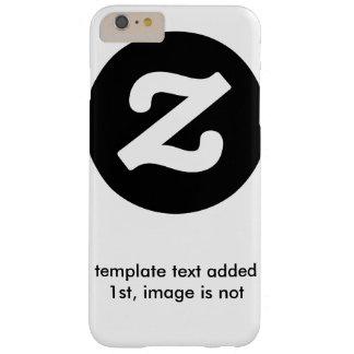 texto de la plantilla ninguna plantilla de la funda barely there iPhone 6 plus