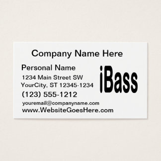 texto del negro del diseño de la música de los tarjeta de negocios
