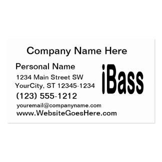 texto del negro del diseño de la música de los tarjetas de visita