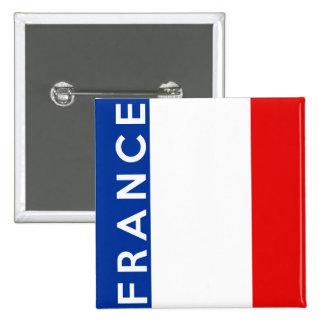 texto del nombre del símbolo de la bandera de país chapa cuadrada 5 cm