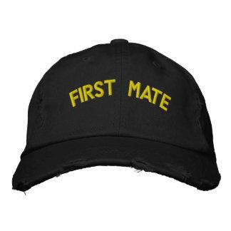 Texto del primer compañero gorras de béisbol bordadas