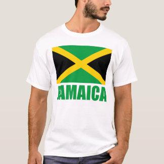 Texto del verde de la bandera de Jamaica Camiseta
