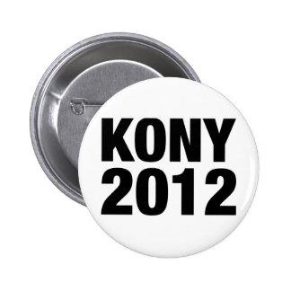 Texto negro de Kony 2012 Pin