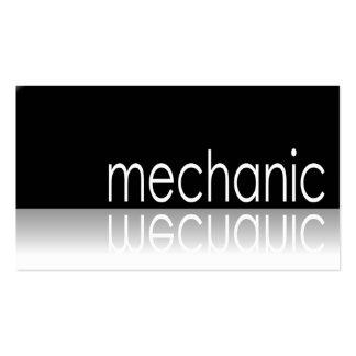 Texto reflexivo - mecánico - tarjeta de visita