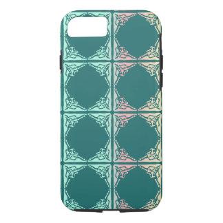 Textura abstracta de la teja del trullo funda iPhone 7