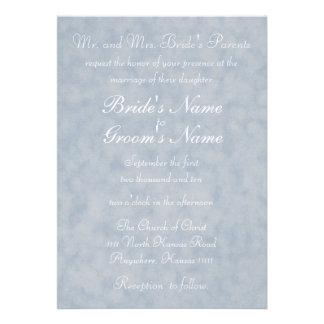 Textura azul con el boda del verso