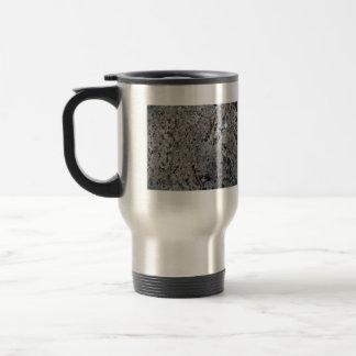 Textura blanco y negro del granito taza