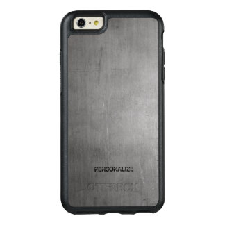 Textura cepillada del metal funda otterbox para iPhone 6/6s plus