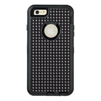 Textura de acero tachonada funda otterbox para iPhone 6/6s plus