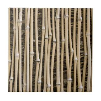 Textura de bambú azulejo cuadrado pequeño