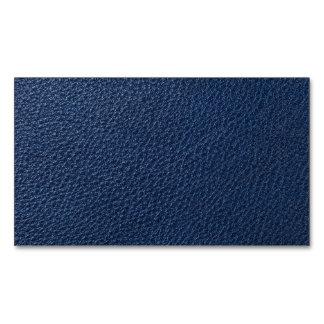 Textura de cuero azul para el fondo tarjetas de visita magnéticas (paquete de 25)
