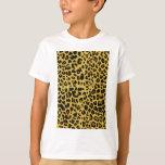 Textura de Jaguar Camiseta
