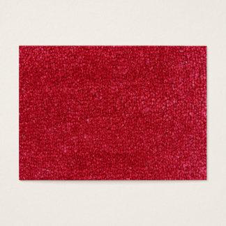 Textura de la alfombra roja tarjeta de negocios