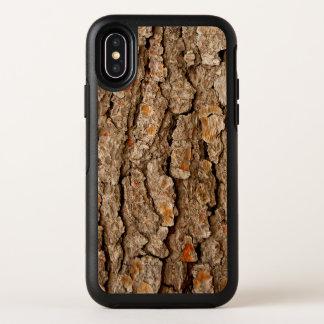 Textura de la corteza de árbol de pino