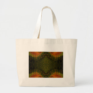 Textura de la cosa anaranjada clara de la luz verd bolsa de mano