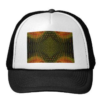 Textura de la cosa anaranjada clara de la luz verd gorras