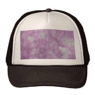 Textura de la pared (efectos rosados y blancos) gorras de camionero