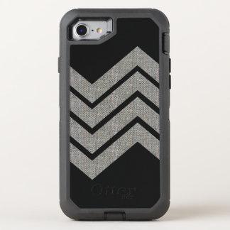 Textura de la tela del modelo geométrico de la funda OtterBox defender para iPhone 8/7