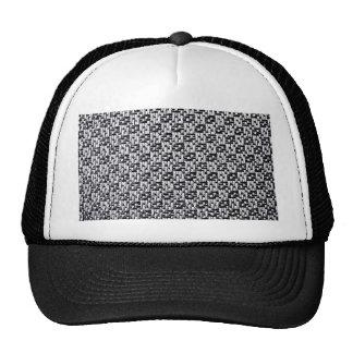 Textura de la tela, lujo, estilo, inspectores de l gorras de camionero