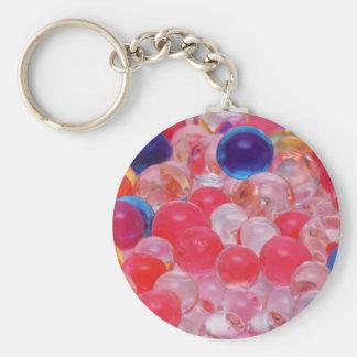 textura de las bolas del agua llavero