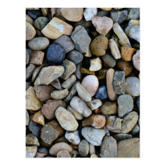 textura de las piedras postal
