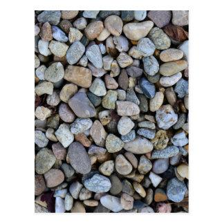 textura de las rocas de las piedras postal