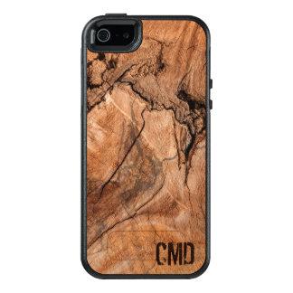 Textura de madera de los nudos de la naturaleza funda otterbox para iPhone 5/5s/SE